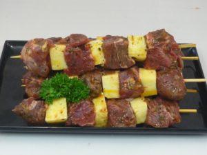 Lamb & Halloumi Kebabs