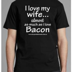 Bacon Inspired Shirt Brisbane