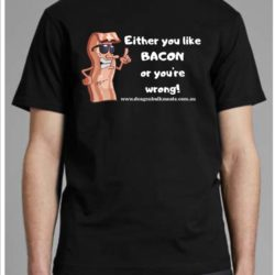 Bacon Inspired Shirt Brisbane Men