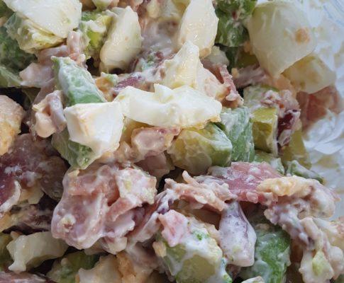 Bacon, Avocado and Egg Salad